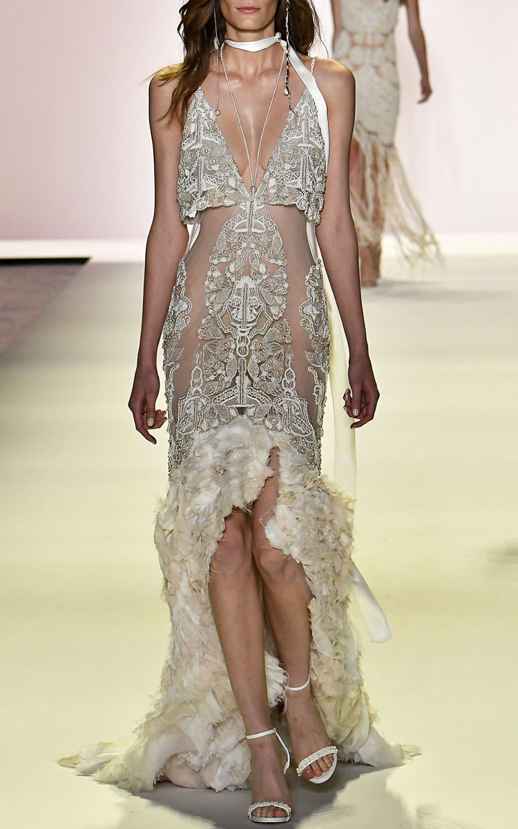 Embellished Sphere Tower Gown By Jonathan Simkhai Moda
