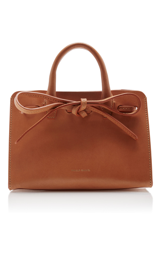 Medium mansur gavriel nude camel mini mini sun bag