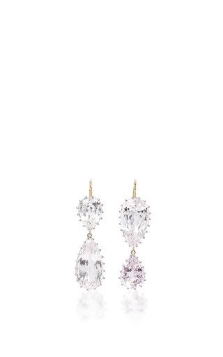 Medium renee lewis pink kunzite earrings
