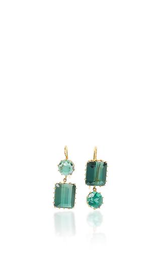 Medium renee lewis green green quartz earrings