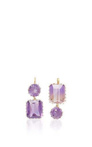 Medium renee lewis purple amethyst earrings
