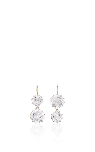 Medium renee lewis white pale kunzite earrings