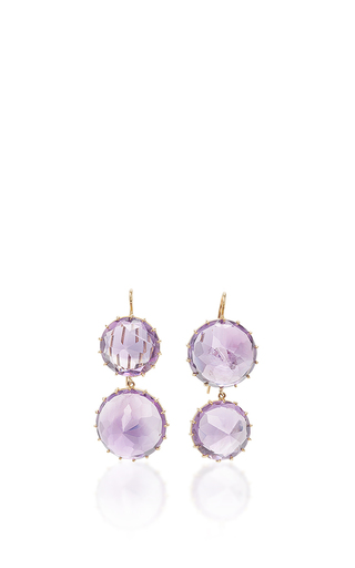 Medium renee lewis purple amethyst earrings 2