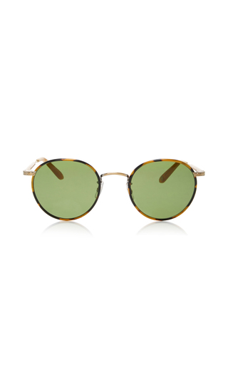 Medium garrett leight green wilson 49 sunglasses 2
