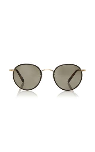 Medium garrett leight brown wilson 49 sunglasses