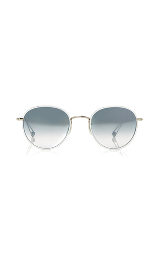 Medium garrett leight white paloma 50 sunglasses