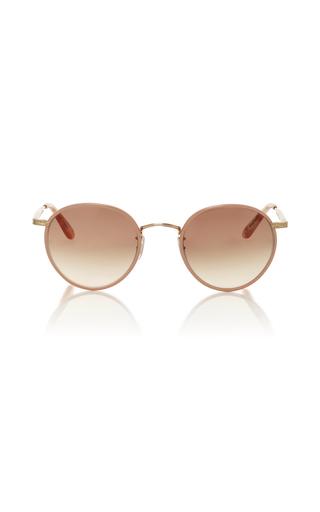 Medium garrett leight pink wilson sunglasses