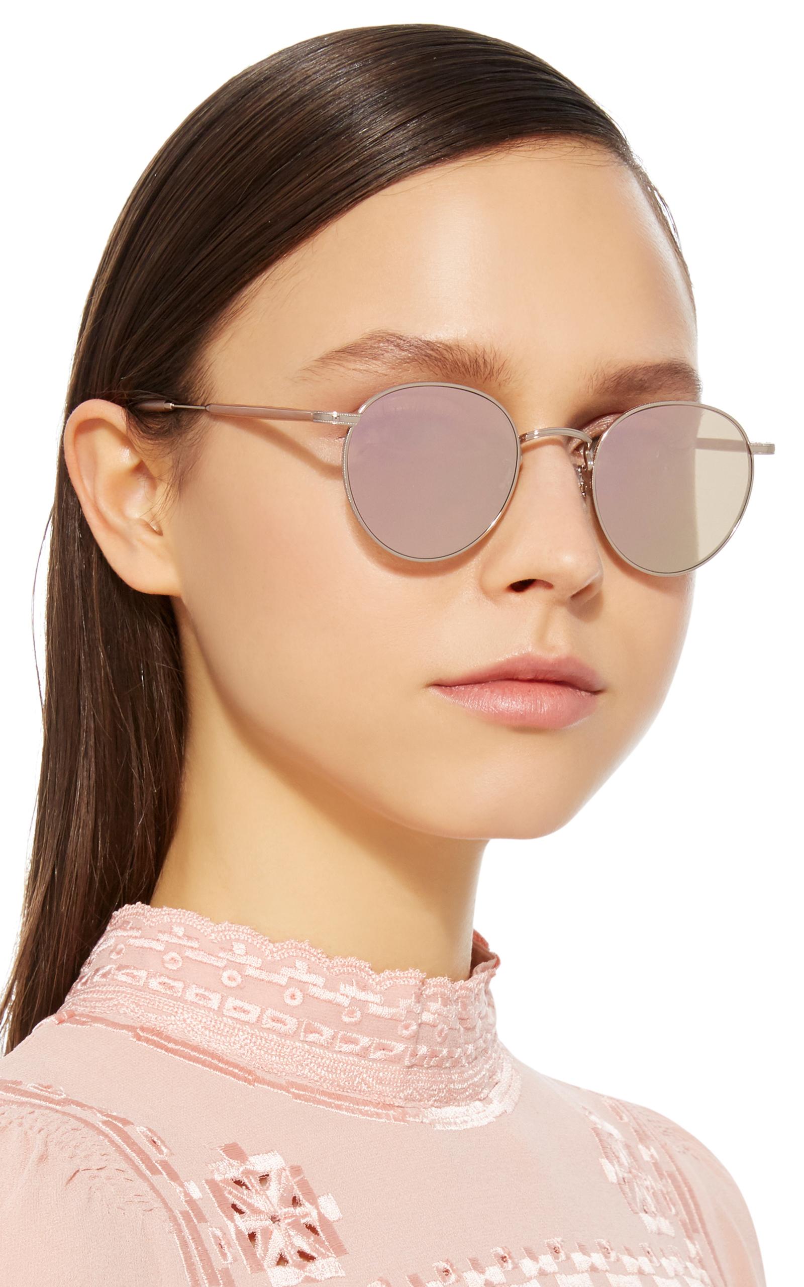6103d5e6f0 Garrett LeightWilson M Round-Frame Sunglasses. CLOSE. Loading