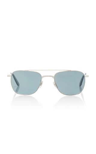 Medium garrett leight silver riviera sunglasses