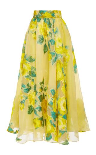 Medium lela rose yellow tucked full skirt