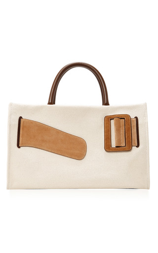 Medium boyy khaki canvas bobby bag