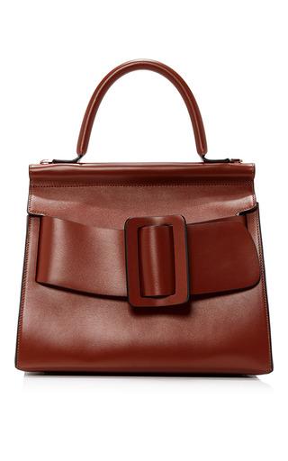Medium boyy brown karl top handle bag 24cm