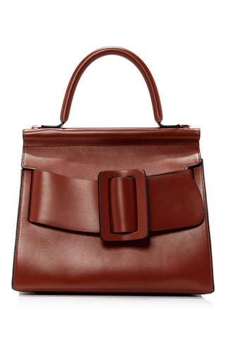 Medium boyy brown karl top handle bag 24cm