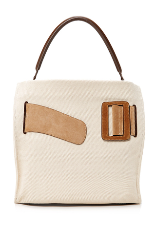 Medium boyy khaki canvas devon bag