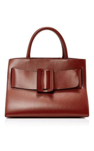 Medium boyy red leather bobby bag