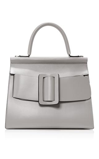 Medium boyy off white leather karl top handle bag