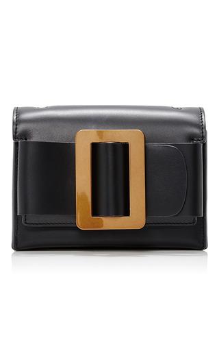 Medium boyy black fred clutch