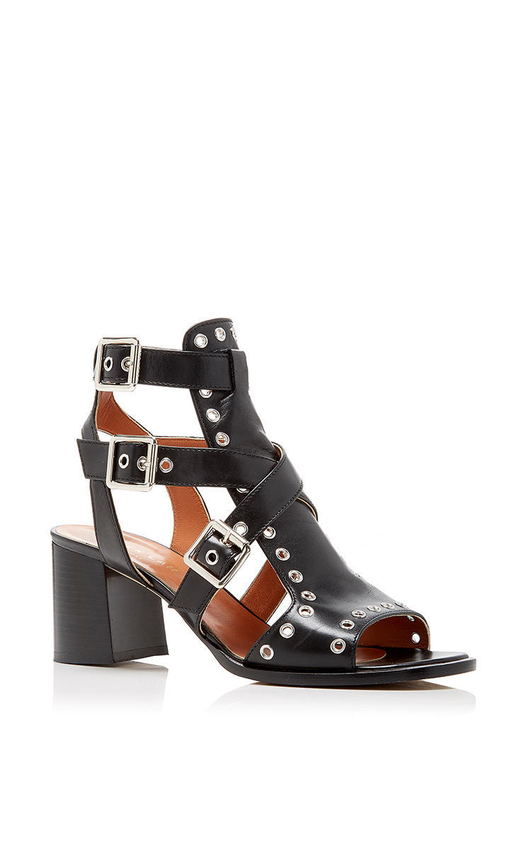 Derek Lam Leather Cage Sandals