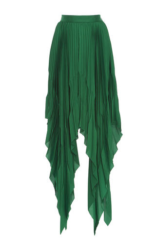 Medium acler green cedar pleat skirt