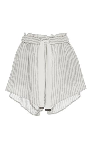 Medium acler stripe preston striped shorts