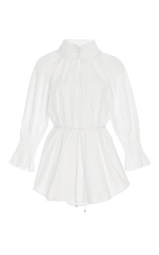 Medium acler white windsor tie waist shirt