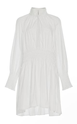 Medium acler white windsor collared shirt dress