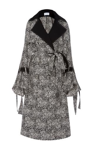 Medium prabal gurung print trench coat