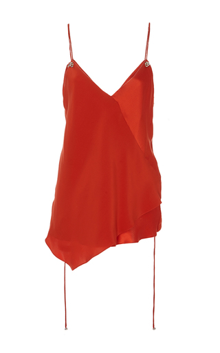 Medium prabal gurung red cami blouse 2