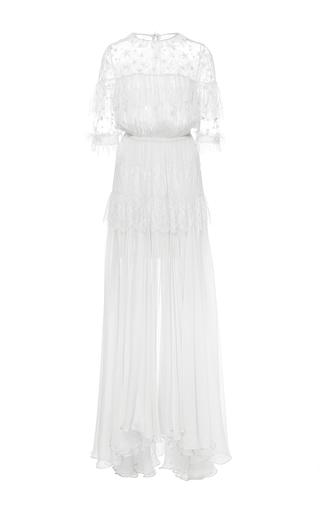Medium maria lucia hohan white the dani ruffle star dress