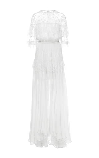 Medium maria lucia hohan white the dani ruffle star dress