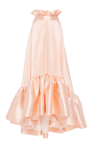 Medium maria lucia hohan pink the adele flounced hem skirt