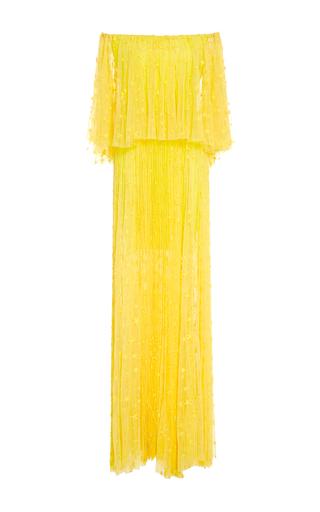 Medium maria lucia hohan yellow the sarabi star strapless maxi dress