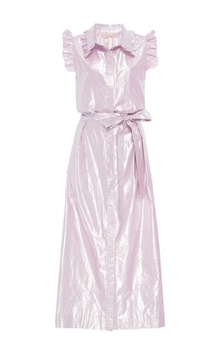 Medium maria lucia hohan purple the babe ruffle a line dress