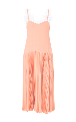 Medium maria lucia hohan orange the ariel drop waist dress
