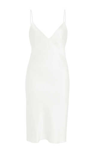 Medium maria lucia hohan white the attina mini slip dress
