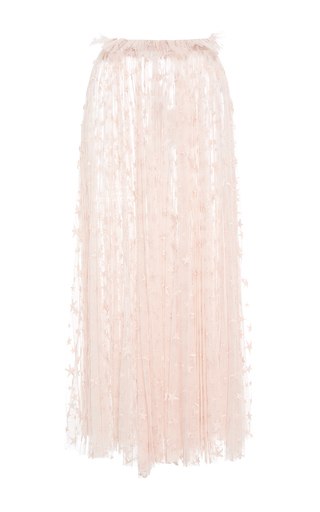 Medium maria lucia hohan off white the jessie star tulle skirt