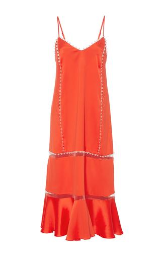 Medium maria lucia hohan red the charlie illusion stripe dress