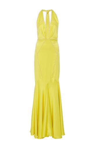 Medium maria lucia hohan yellow the simba fit and flare dress