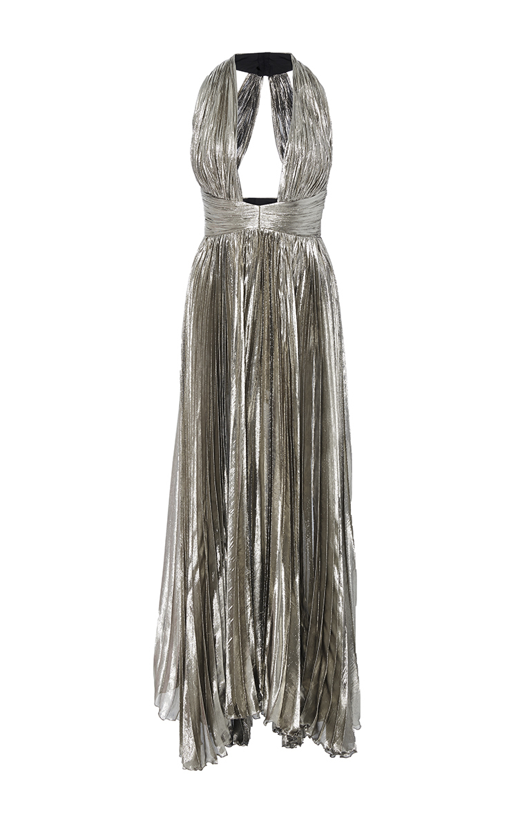 3ca5873551b5 The Adina Halter Neck Midi Dress by Maria Lucia Hohan