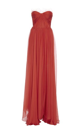 Medium maria lucia hohan red the anna maxi dress
