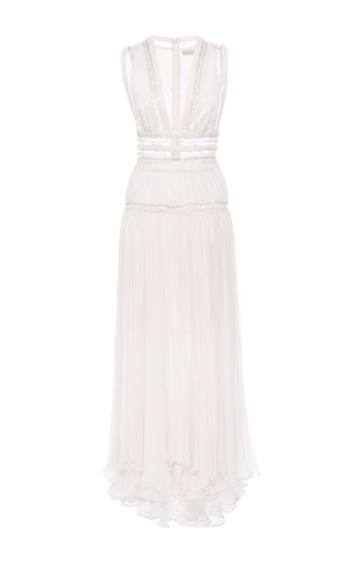 Medium maria lucia hohan white the harper wish upon a star midi dress