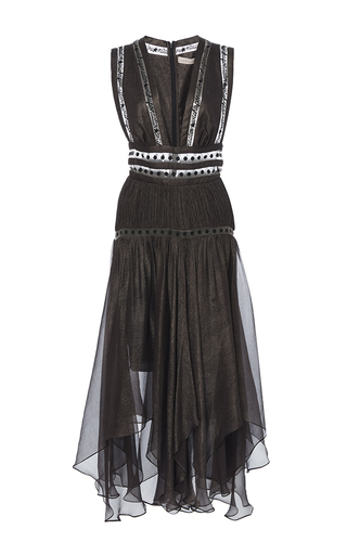 Medium maria lucia hohan black the suzy wish upon a star midi dress