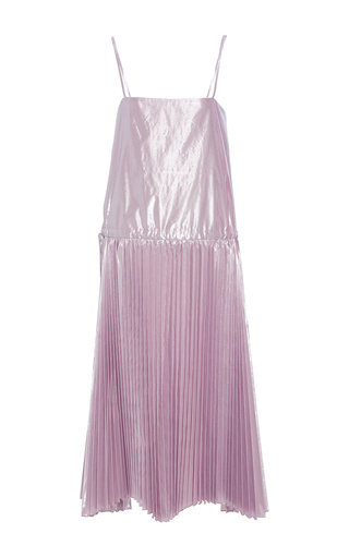 Medium maria lucia hohan purple the jennifer drop waist dress