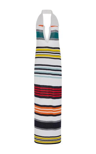 Medium rosie assoulin stripe rainbow striped sweater dress
