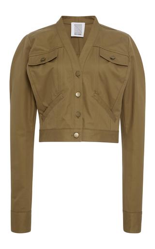 Medium rosie assoulin brown cotton jacket