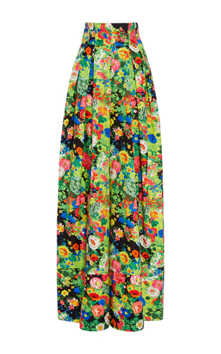Medium rosie assoulin print artichoke hearts high waisted pants