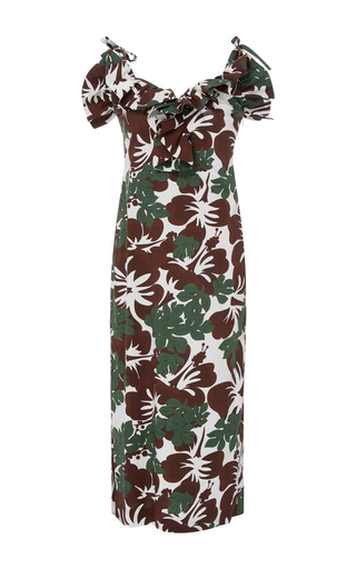 Medium rosie assoulin print blooming onion midi dress