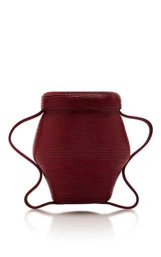 Medium rosie assoulin red mini jug bag
