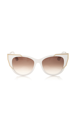 Medium thierry lasry white butterscotchy sunglasses