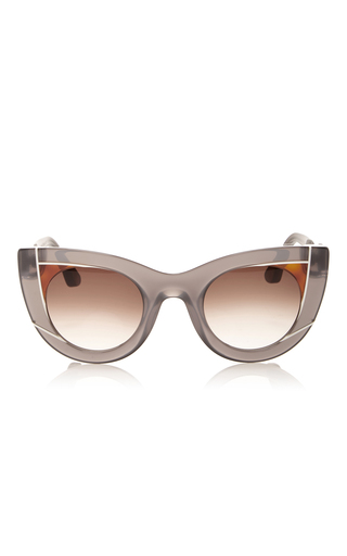 Medium thierry lasry dark grey wavvy sunglasses